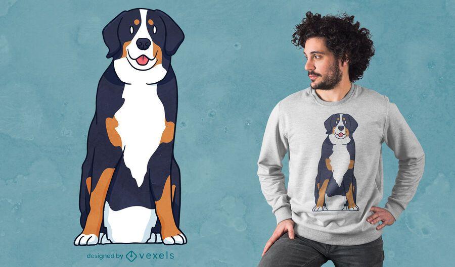 Bernese Mountain Dog t-shirt design