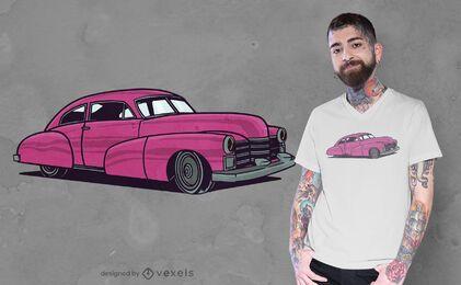 Klassisches Auto-T-Shirt Design
