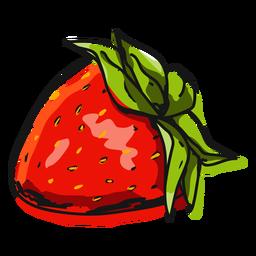 Ilustración de fruta de fresa