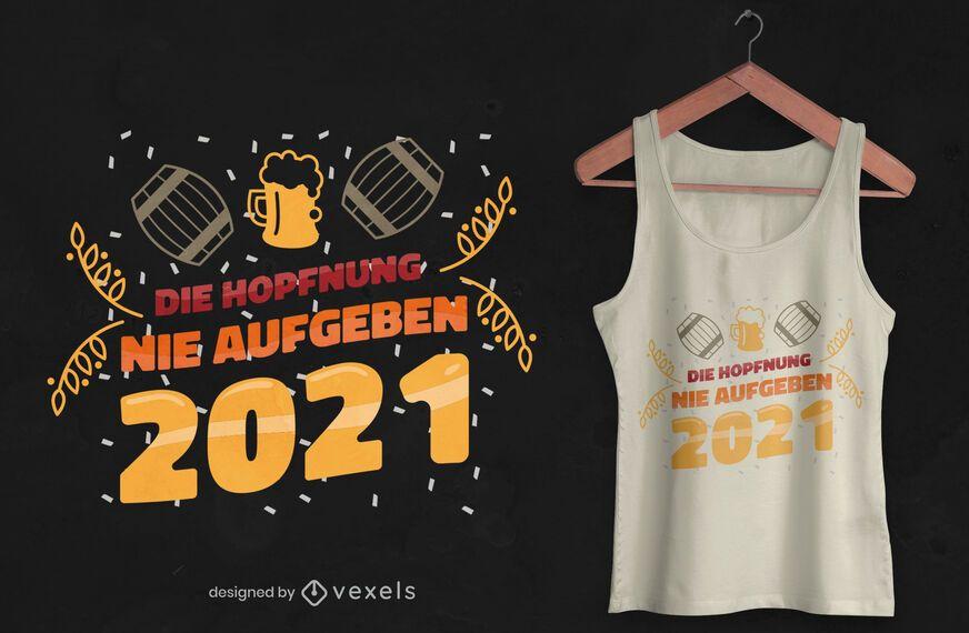 Hope 2021 t-shirt design