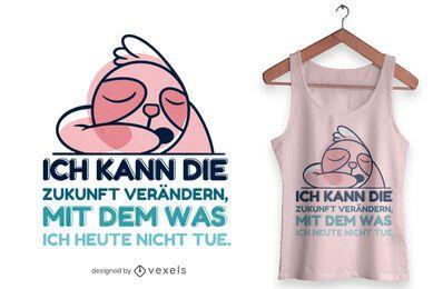 Ändern Sie das zukünftige T-Shirt Design