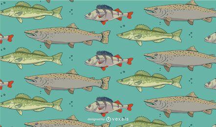 Projeto de padrão de espécies de peixes