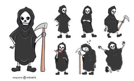 Grim reaper character set