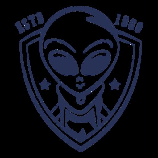 Insignia de Alien estableció 1969