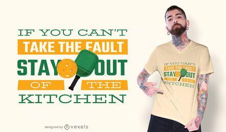 Design de t-shirt Pickleball
