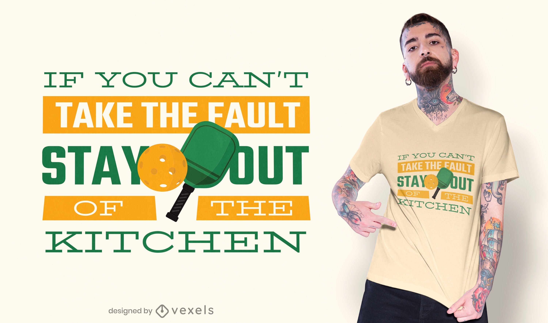Pickleball t-shirt design