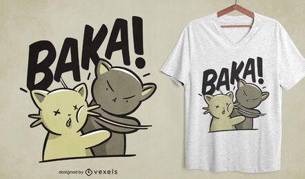 Design de camisetas Baka