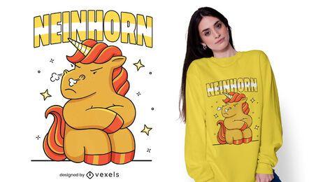 Diseño de camiseta Neinhorn