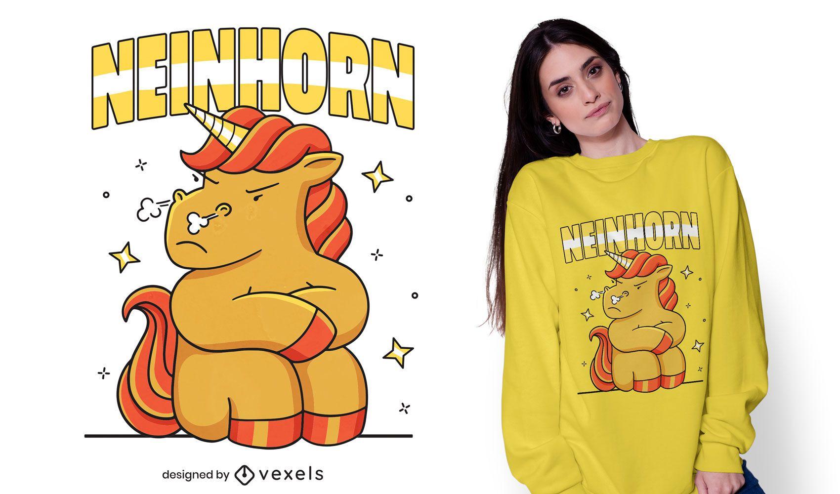 Neinhorn t-shirt design