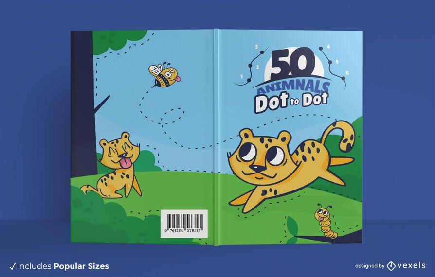 Dot to dot book cover design