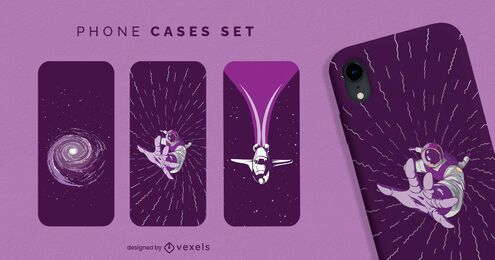 Space phone case set