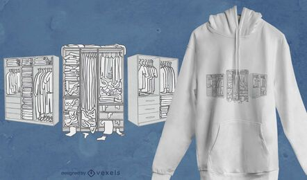 Full closets t-shirt design
