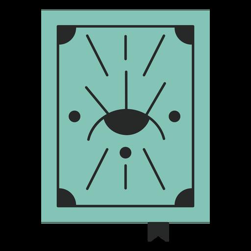 Blue tarot flat