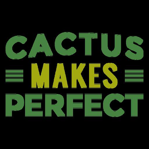 Cactus hace letras perfectas Transparent PNG