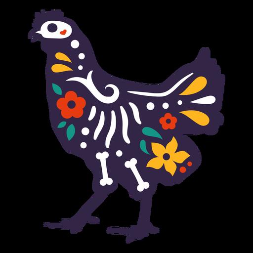 Hühnerschädel otomi