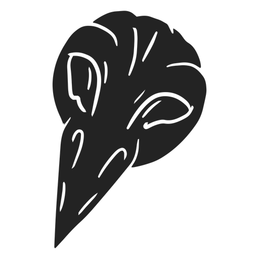 Crow halloween cut out