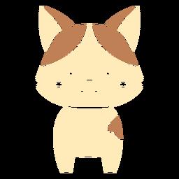 Cute cat cut out