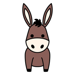 Lindo burro plano