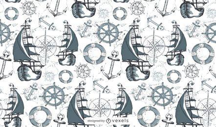 Projeto de padrão marítimo