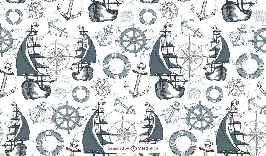 Maritime pattern design