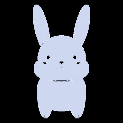Cute rabbit cut out