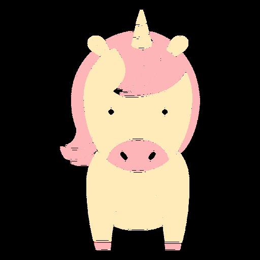 Cute unicorn cut out