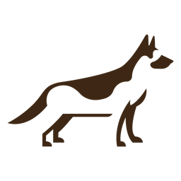 German shephard logo