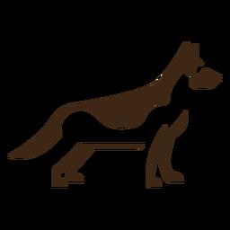 Logotipo de shephard alemán