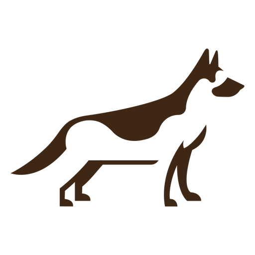 German shephard logo