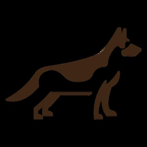 Logotipo de shephard alem?n