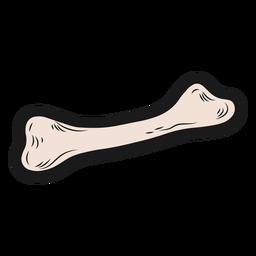 Halloween bone sticker