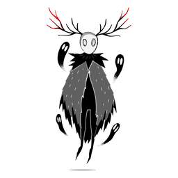 Criatura fantasma de Halloween