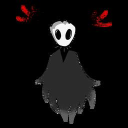 Personaje de luna de criatura de Halloween