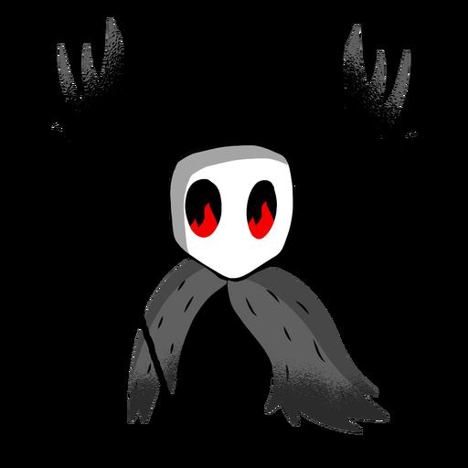 Personaje de tridente de criatura de Halloween Transparent PNG
