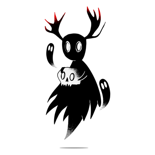 Halloween creepy character
