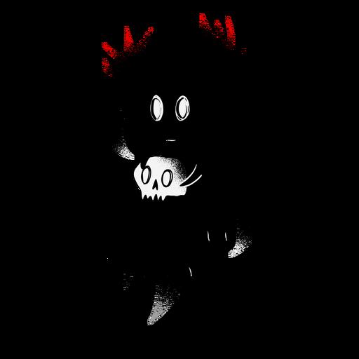 Personaje espeluznante de Halloween