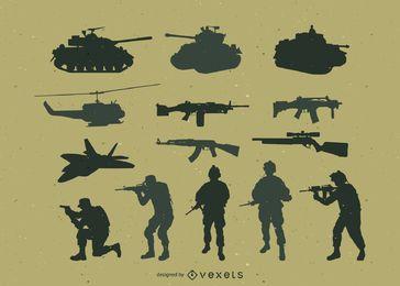 Militärische Vektorpackung