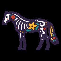 Otomi de cráneo de caballo