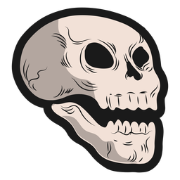 Laughing skull stocker