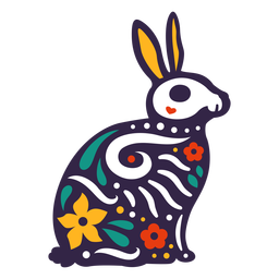 Rabbit skull otomi