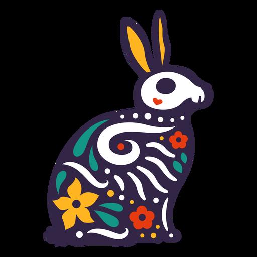 Rabbit skull otomi Transparent PNG