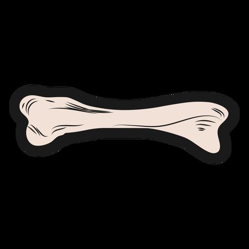 Hueso esqueleto pegatina