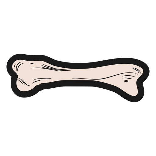 Skeleton bone sticker