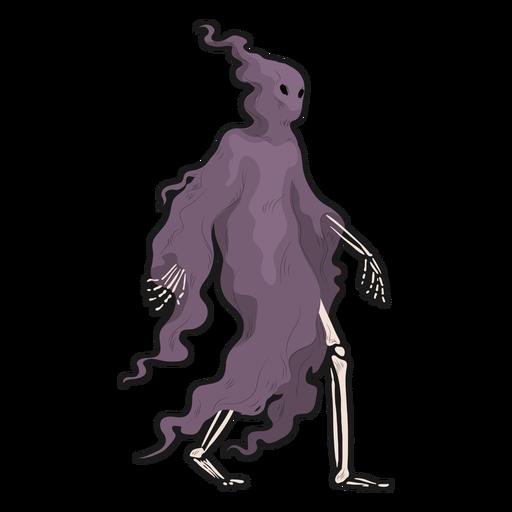 Skeleton cloak sticker