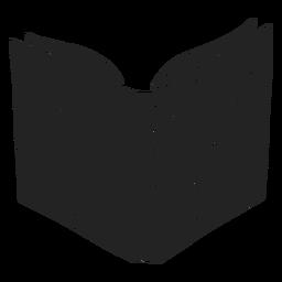 Livro de feitiços do dia das bruxas cortado