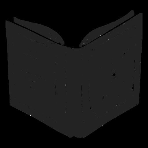 Libro de hechizos halloween recortado