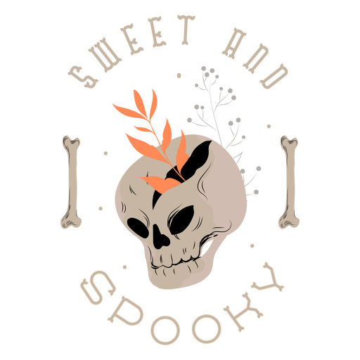 Sweet and spooky badge