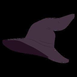 Ilustración de halloween de sombrero de bruja