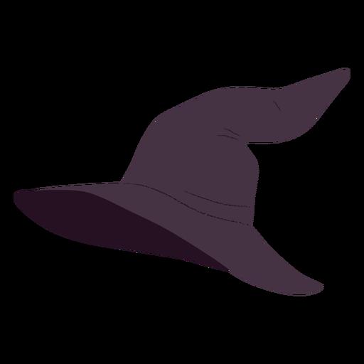 Witch hat halloween illustration
