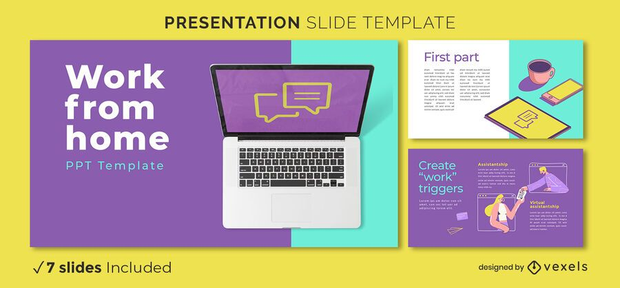 Work from home presentation template